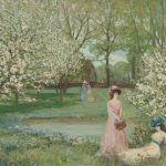 Rainer Maria Rilke – I mandorli in fiore / The almond trees in bloom