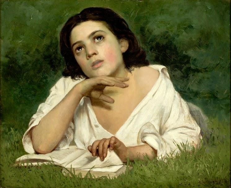Almeida Júnior, Moça Com Livro