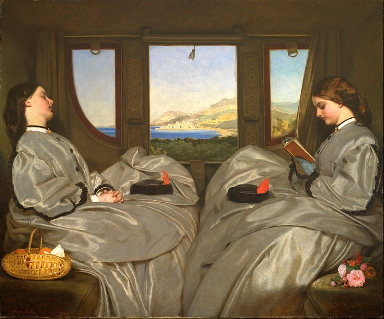 Augustus Leopold Egg, The Travelling Companions