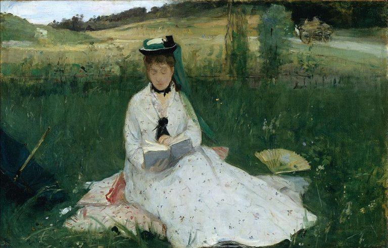 Berthe Morisot, La Lecture (1873)