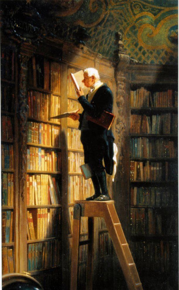 Carl Spitzweg, The Bookworm