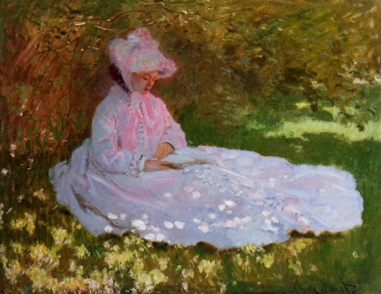 Claude Monet, The Reader