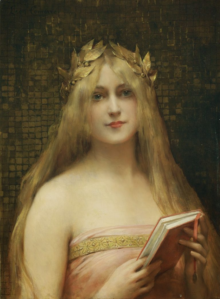 Comerre, Girl With A Golden Wreath