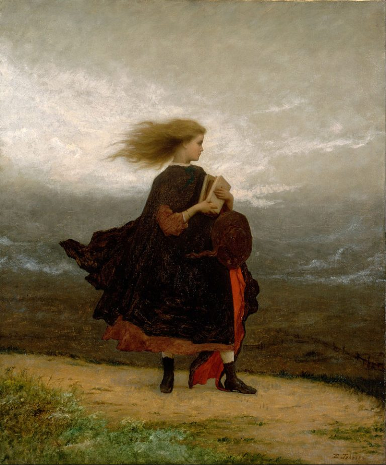 Eastman Johnson, The Girl I Left Behind Me