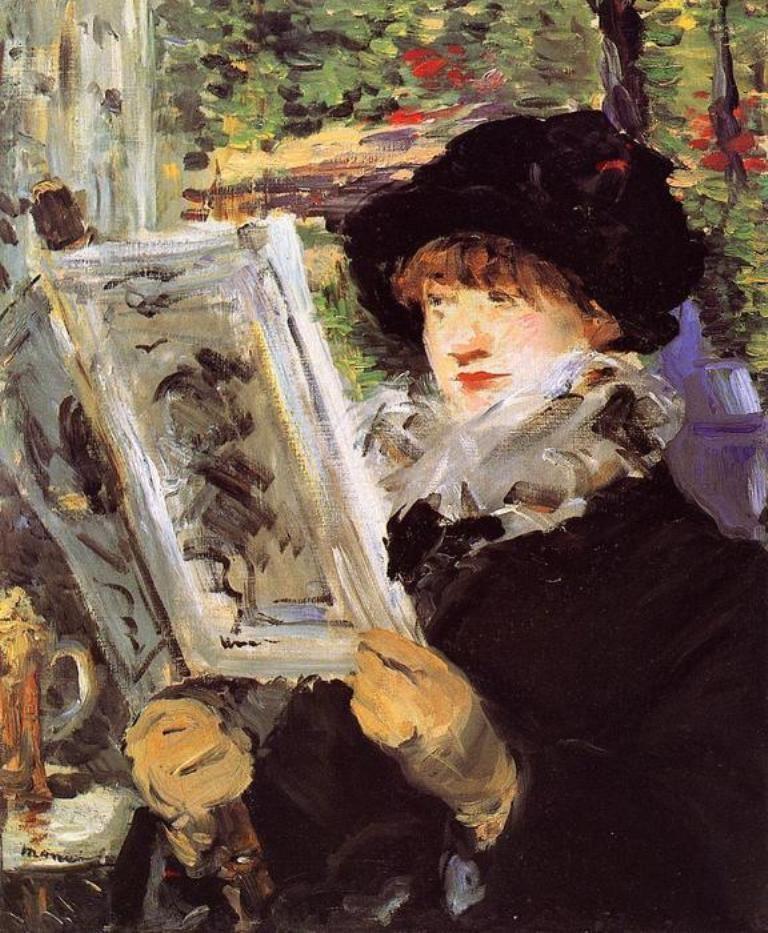 Edouard Manet, Reading