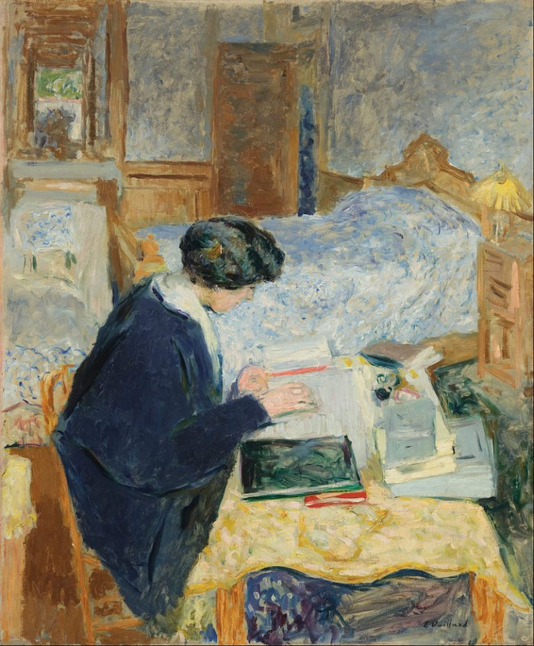 Edouard Vuillard, Lucy Hessel Reading