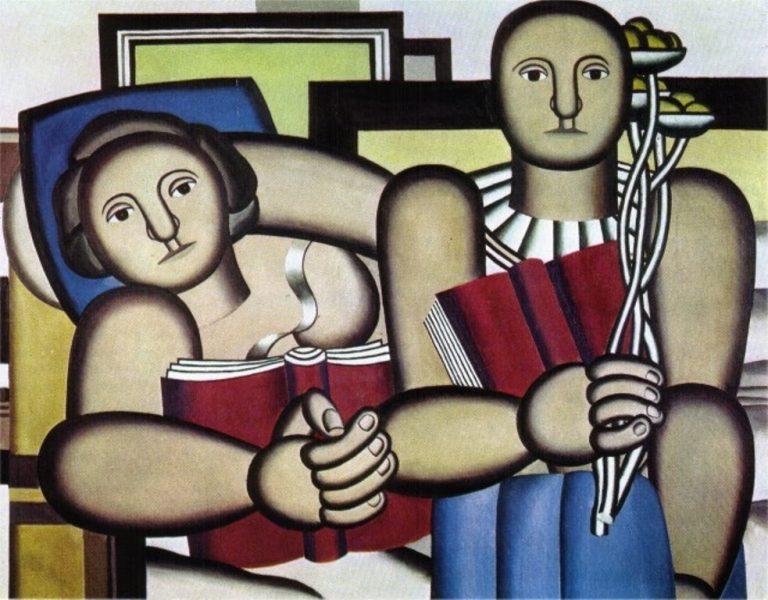 Fernand Leger, La Lecture, 1924