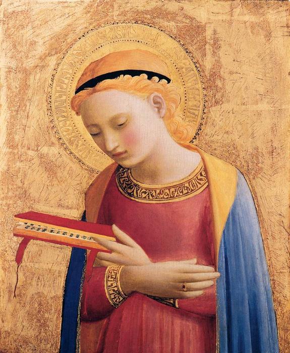 Beato Angelico, Virgin Mary