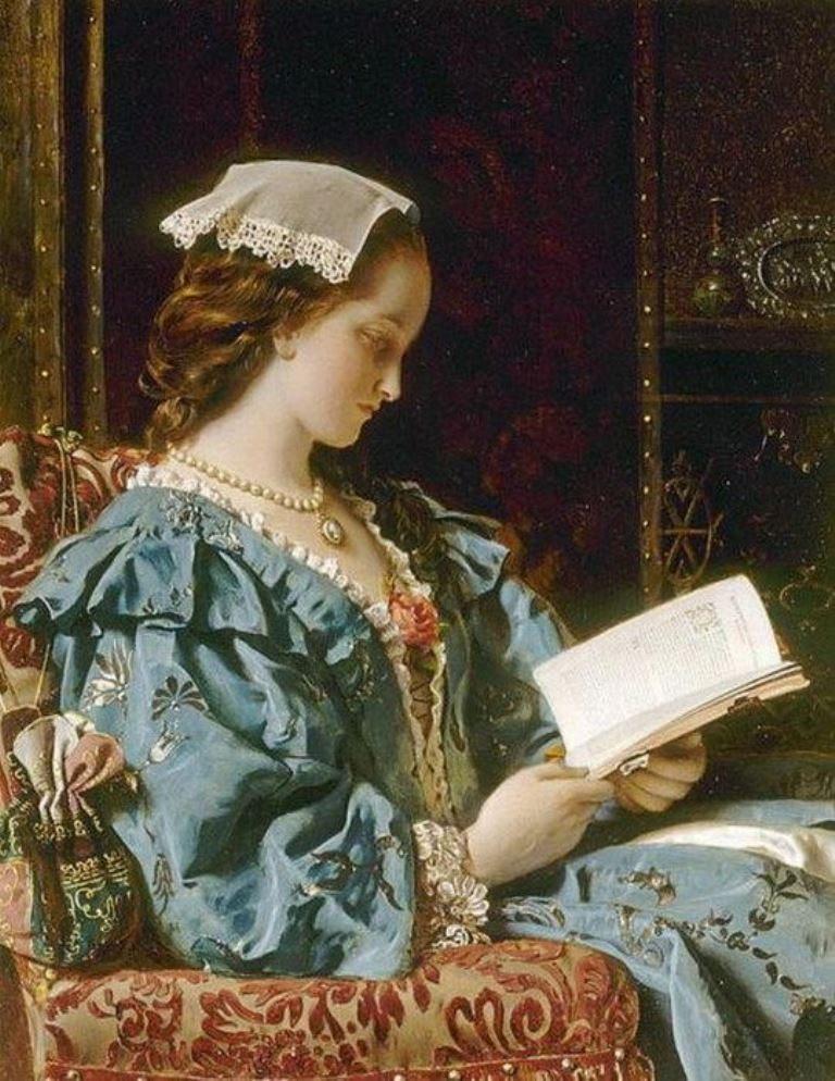 Francis John Wyburd (1826-1893), The Love Tale