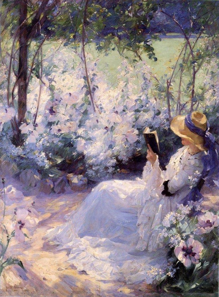 Frank Bramley, Delicious Solitude, 1909