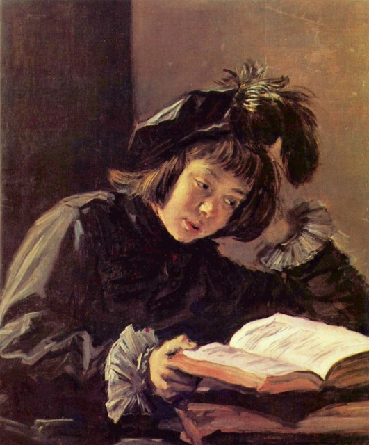 Frans Hals, Boy Reading