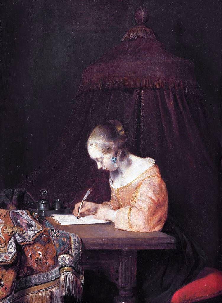 Gerard ter Borch, The letter
