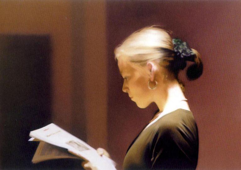 Gerhard Richter, Reading