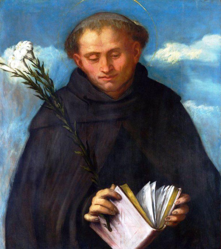 Girolamo Romanino, Saint Filippo Benizzi