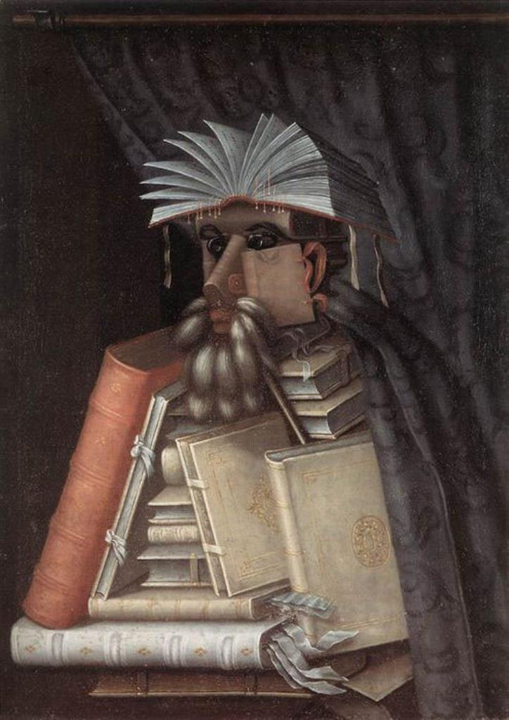 Giuseppe Arcimboldo, The Librarian
