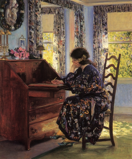 Guy Rose, The Difficult Reply, 1910
