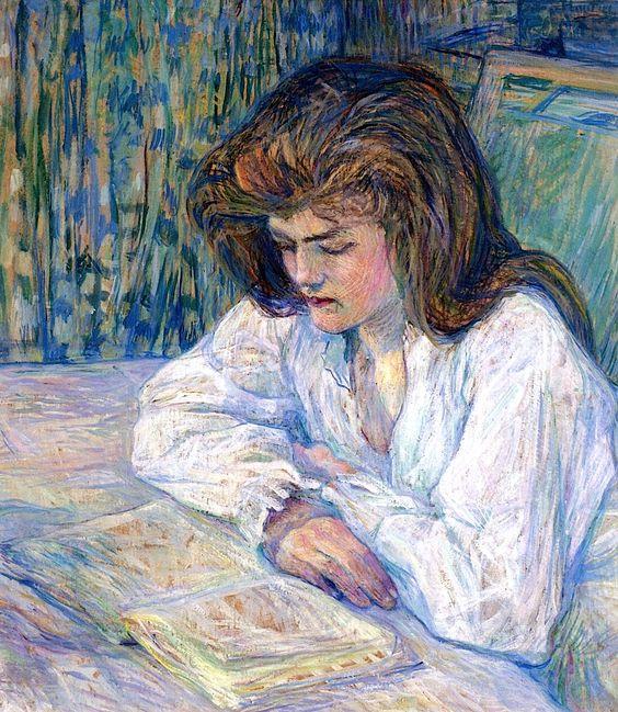Henri De Toulouse Lautrec, The Reader, 1889