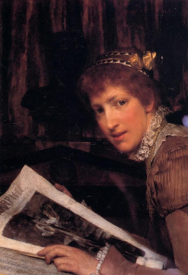 Lawrence Alma Tadema, Interrupted