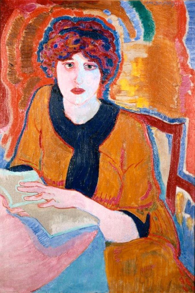 Jan Sluijters, Reading Woman