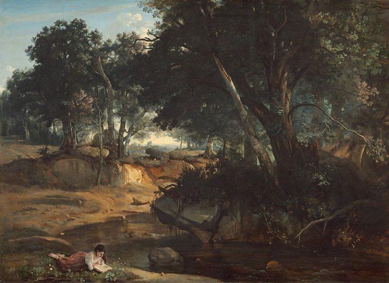 Jean Baptiste Camille Corot, Forêt De Fontainebleau (1834)