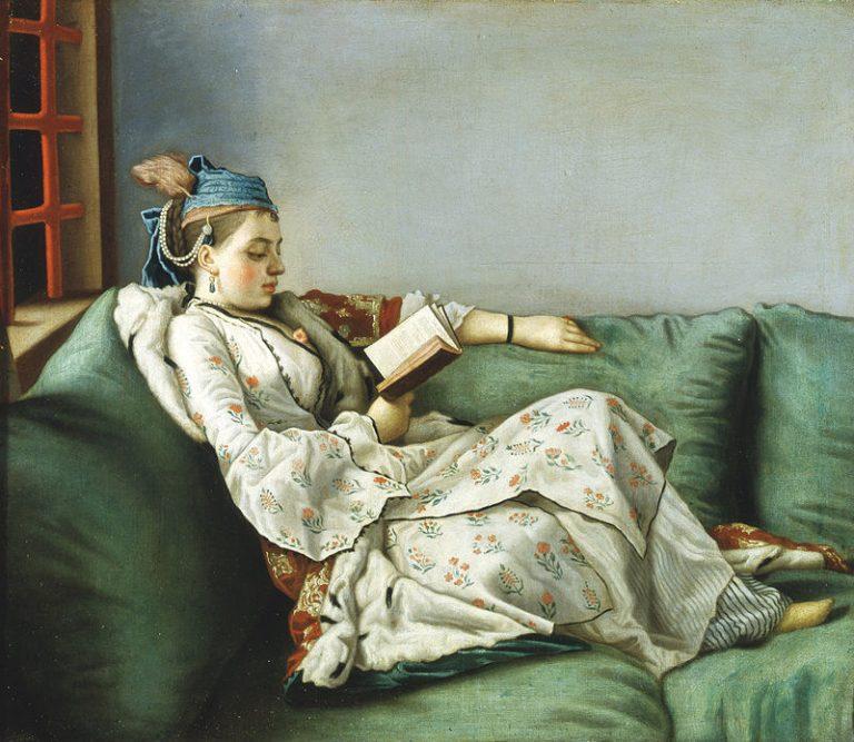 Jean Etienne Lìotard, Ritratto Di Maria Adelaide Di Francia