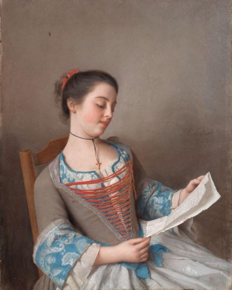 Jean Etienne Lìotard, The reader