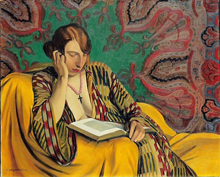 Felix Vallotton, Le Lettrice,1922