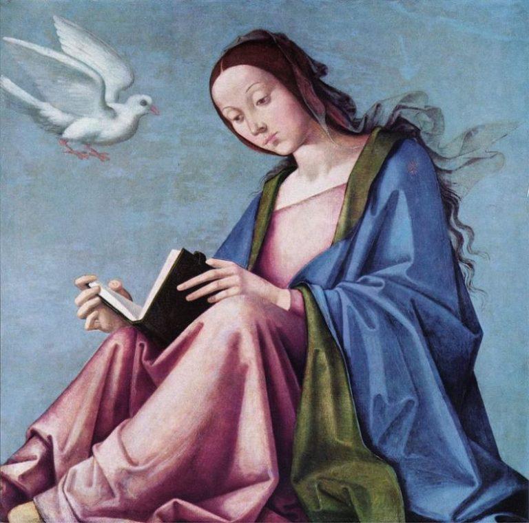 Lorenzo Costa The Elder, Reading Maria