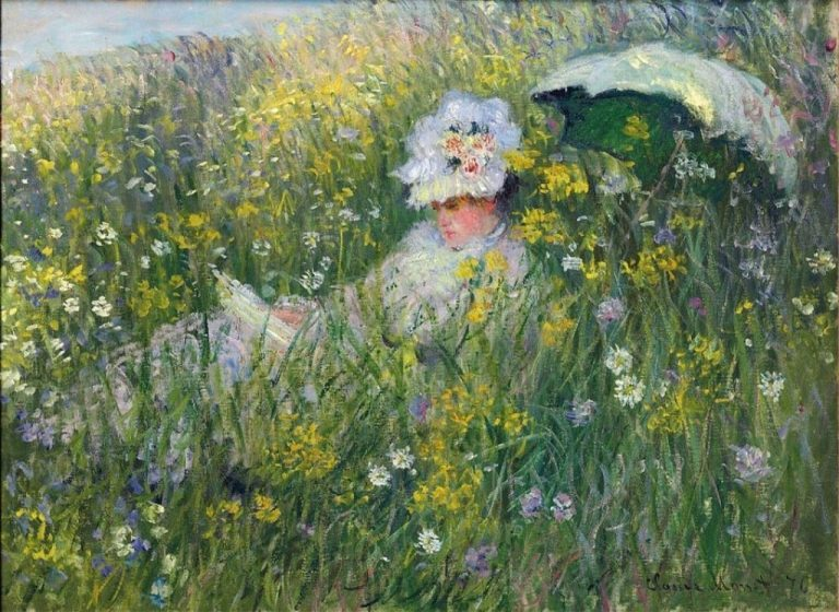 Claude Monet, Nel prato