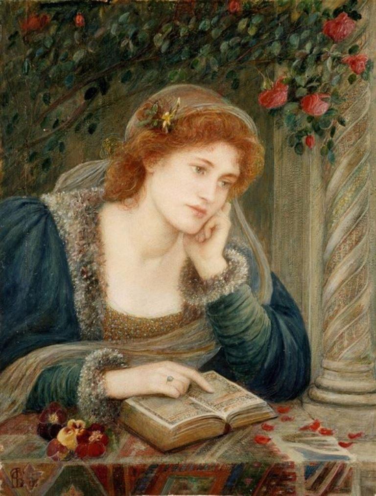 Marie Spartali Stillman, Beatrice, 1895