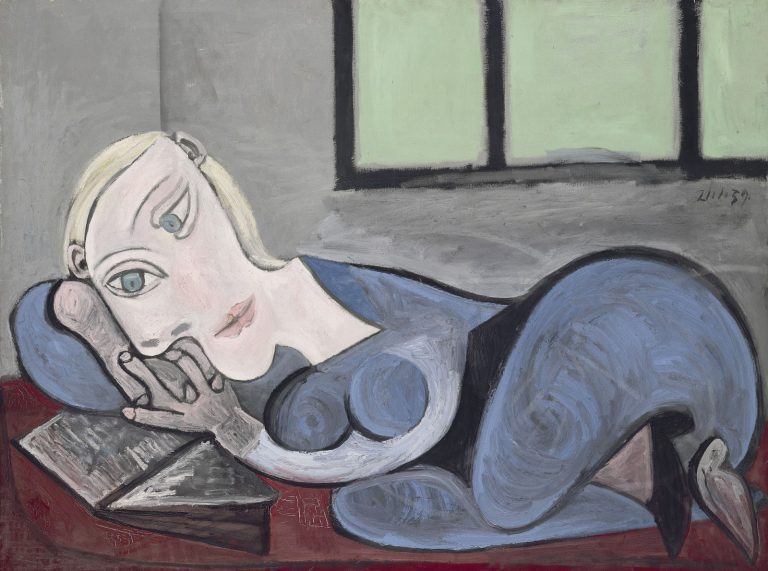 Pablo Picasso, Reclining Woman Reading, 1960