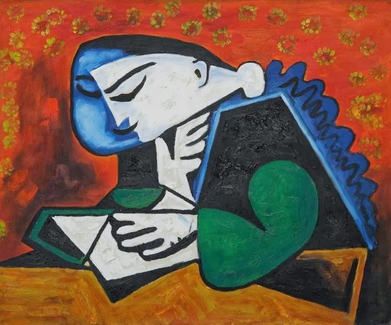 Pablo Picasso, Woman Reading, 1953