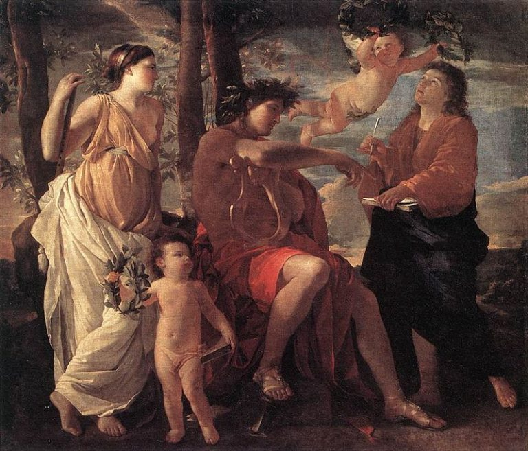 N. Poussin, Inspiration Of The Poet