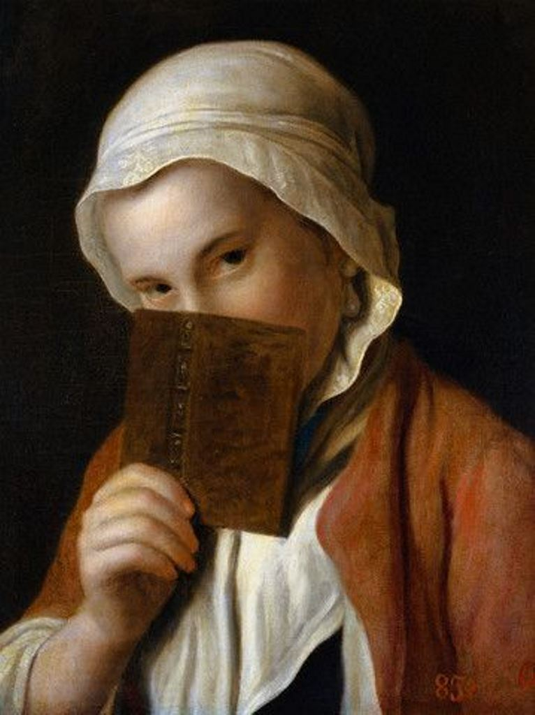 Pietro Rotari, Girl with a book