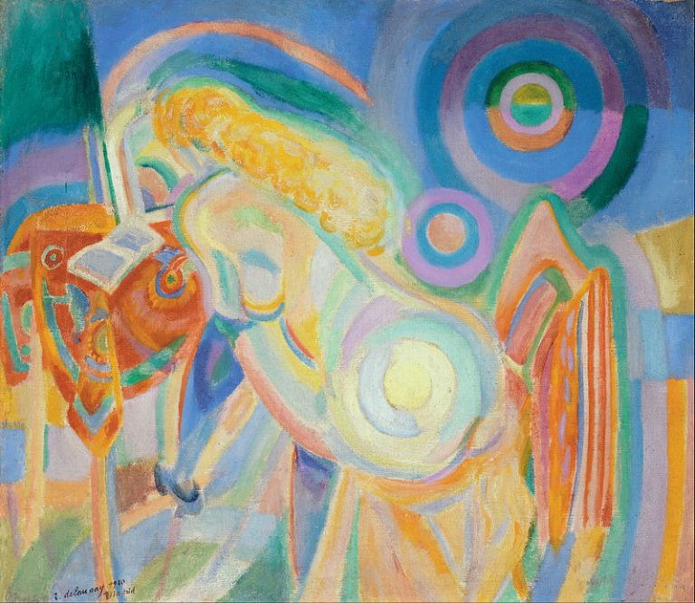 Robert Delaunay (Nude Woman Reading)