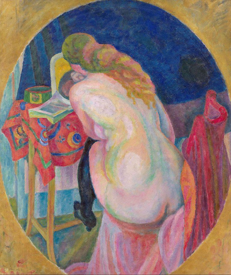 Robert Delaunay, Nude Woman Reading