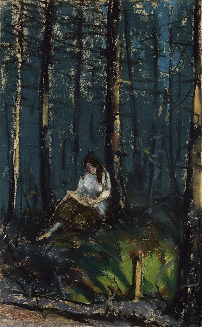 Robert Henri, The Reader In The Forest
