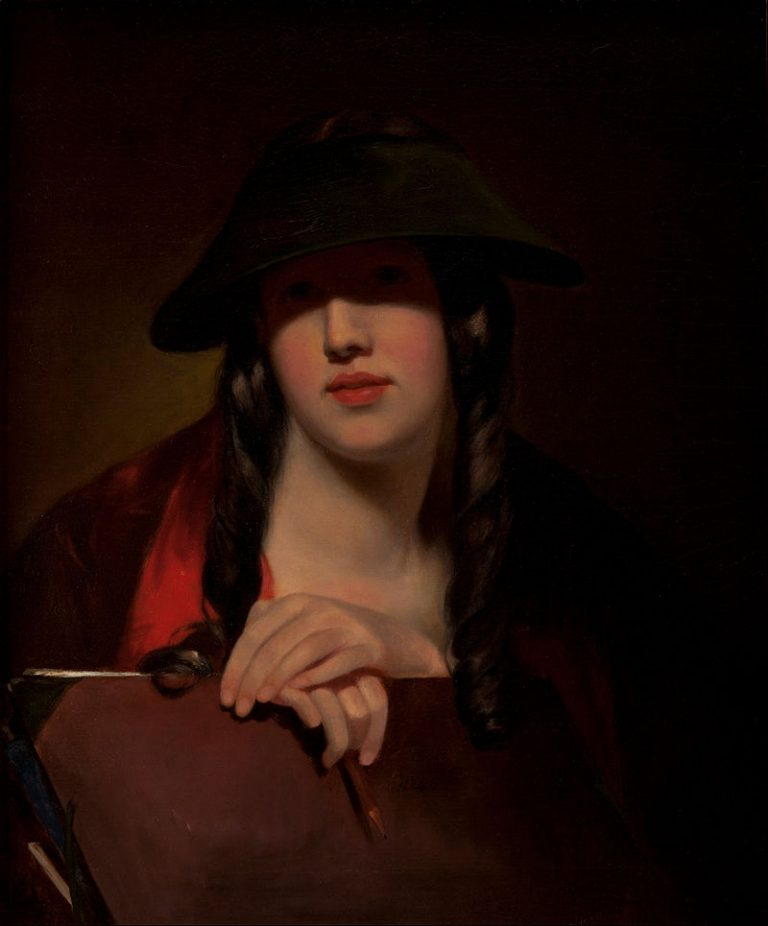 Thomas Sully, The Student (Rosalie Kemble Sully)