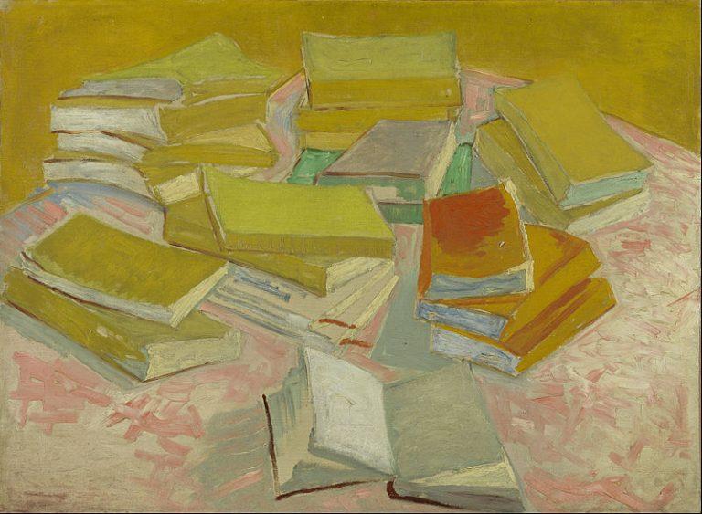 Vincent Van Gogh, Piles Of French Novels