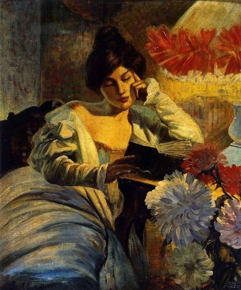 A. Alciati, La Lettura (1905)