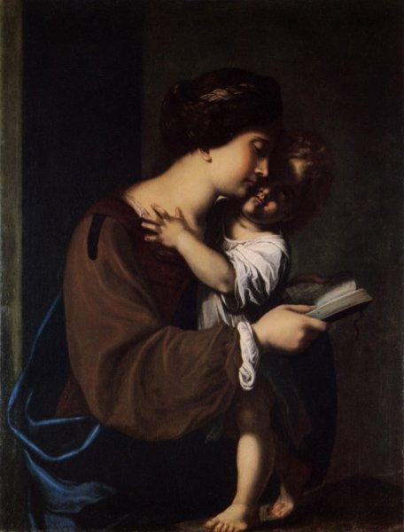 Antiveduto Grammatica, Madonna Leggente