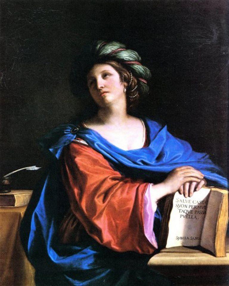 Guercino, Samian Sybil