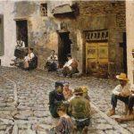 Umberto Saba - Old town / Città vecchia