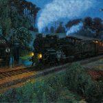Vincenzo Cardarelli - Paesaggio notturno / Night Landscape