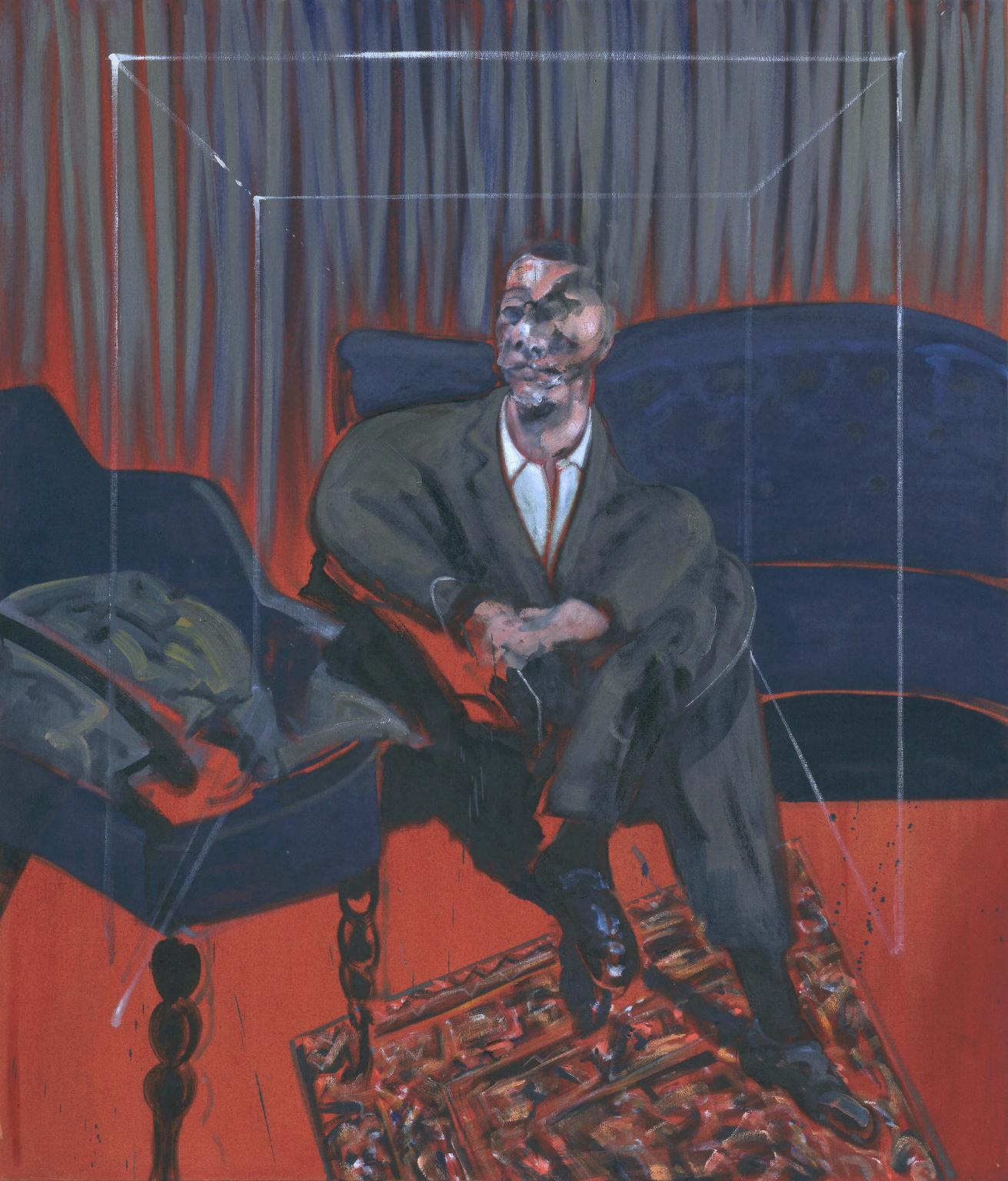Seated Figure 1961 Francis Bacon 1909-1992 Presented by J. Sainsbury Ltd 1961 http://www.tate.org.uk/art/work/T00459