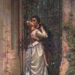 Alfred Tennyson - E' caduta una splendida lacrima/There has fallen a splendid tear
