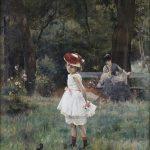 Camillo Sbarbaro - La bambina che va sotto gli alberi / The girl that walks under the trees