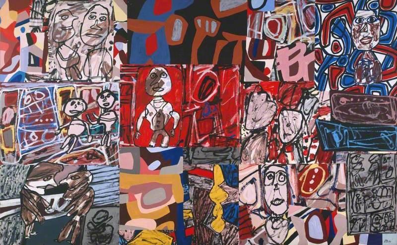 Dubuffet, Jean; Vicissitudes (Les Vicissitudes); Tate; http://www.artuk.org/artworks/vicissitudes-les-vicissitudes-198600