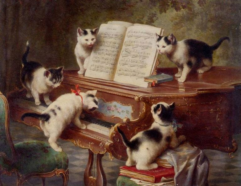 Carl Reichert, The Kittens Recital
