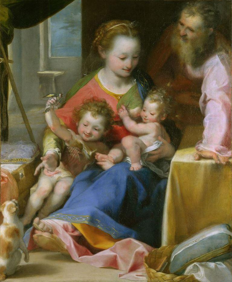 Federico Barocci, La Madonna Del Gatto
